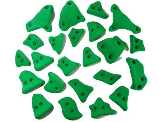 Ergoholds Kids 23 Large Chwyty wspinaczkowe Chwyty 23 szt. Dzieci, zielony